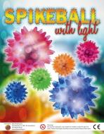Spike ball with light